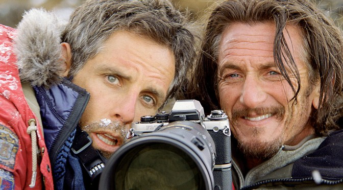 "Walter Mitty e Sean O'Connell in una scena del film ""the secret life of walter mitty"""
