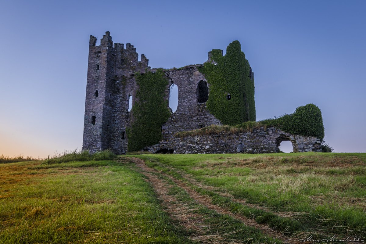 Bally Carbery Castle fotografia dell'Irlanda
