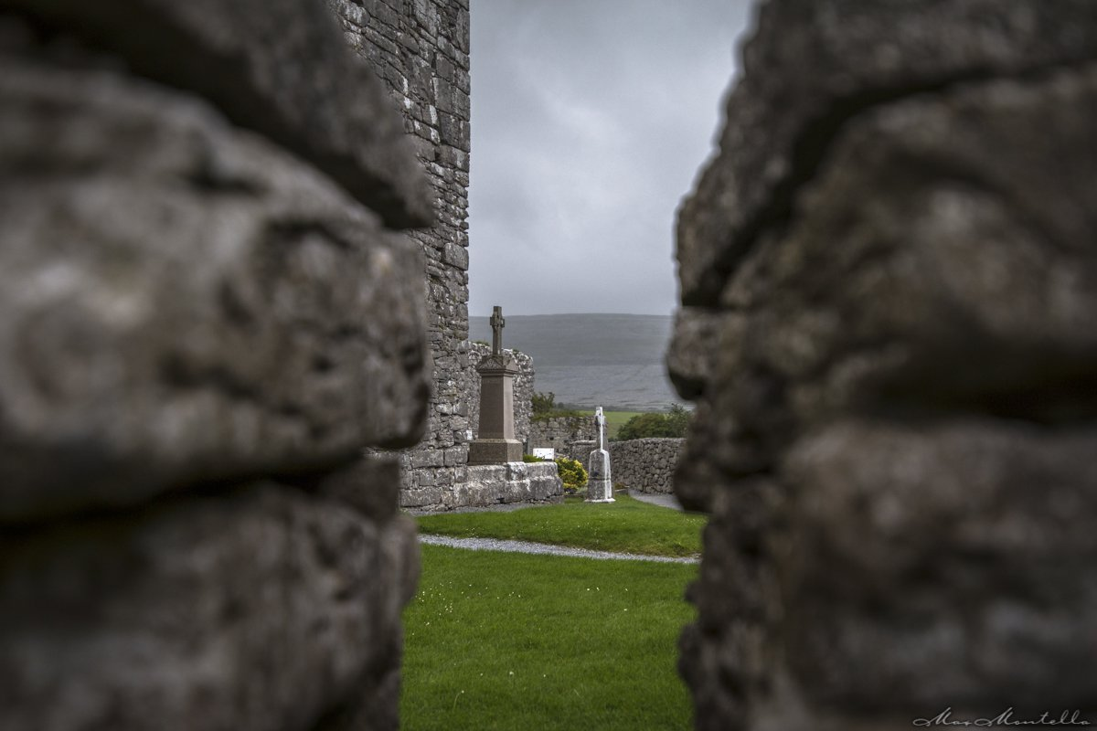 Corcomroe Abbey, Irlanda in foto